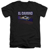 Chevy- El Camino Dash V-Neck Shirts