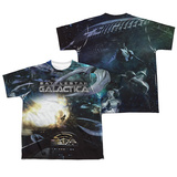 Youth: Battle Star Galactica- Viper Cockpit (Front/Back) T-shirts