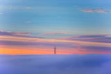 Sutro Tower Above the Fog - San Francisco, Golden Gate Bridge Photographic Print by Vincent James