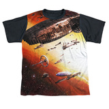 Youth: Battle Star Galactica- Ragtag Fleet Black Back T-Shirt