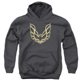 Youth Hoodie: Pontiac- Iconic Firebird Emblem Pullover Hoodie