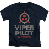 Youth: Battle Star Galactica- Viper Pilot In Training T-shirts