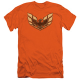 Pontiac-1975 Firebird Emblem (Slim Fit) T-shirts