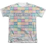 Sesame Street- Logo Color Block Sublimated