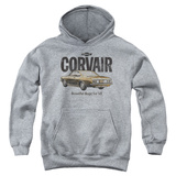 Youth Hoodie: Chevy- Corvair '65 Beauty Pullover Hoodie