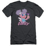 Sesame Street- Smiley Abby (Slim Fit) Shirt