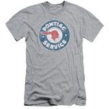 Pontiac- Vintage Pontiac Service (Slim Fit) Shirts
