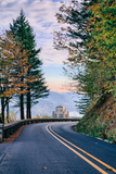 The Road to Vista House, Columbia River Gorge, Oregon Photographic Print by Vincent James