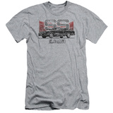 Chevy- Distressed El Camino SS (Slim Fit) Shirts