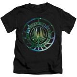 Juvenile: Battle Star Galactica- Stellar Insignia T-Shirt