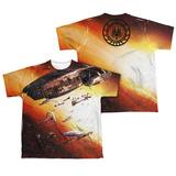 Youth: Battle Star Galactica- Ragtag Fleet (Front/Back) T-Shirt