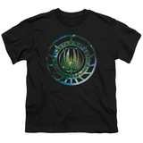 Youth: Battle Star Galactica- Stellar Insignia T-shirts