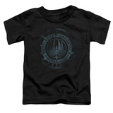 Toddler: Battle Star Galactica- Faded Insignia T-shirts