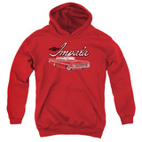 Youth Hoodie: Chevy- Classic Impala Pullover Hoodie