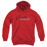 Youth Hoodie: Chevy- Vintage Sting Ray Logo Pullover Hoodie