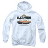 Youth Hoodie: Chevy- El Camino Incredible Truck Pullover Hoodie