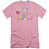 Sesame Street- Patterns & Shapes Friends (Slim Fit) Shirts