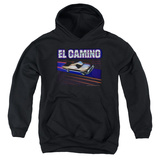 Youth Hoodie: Chevy- El Camino Dash Pullover Hoodie