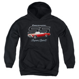 Youth Hoodie: Chevy- Impala SS Pullover Hoodie