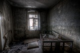 Haunted Interior Bedroom Photographic Print by Nathan Wright