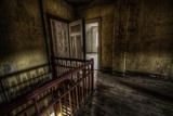 Haunted Interior Landing Photographic Print by Nathan Wright