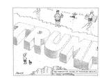 New Yorker Cartoon Premium Giclee Print by Jack Ziegler