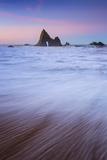 Peaceful Morning Beach, Half Moon Bay, Martin's Beach, California Coast Photographic Print by Vincent James