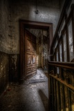 Haunted Interior Hallway Photographic Print by Nathan Wright