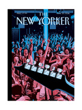 The New Yorker Cover - April 25, 2016 Regular Giclee Print by R. Kikuo Johnson