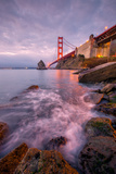 Golden Gate North Side, San Francisco Bay, Sausalito California Photographic Print by Vincent James