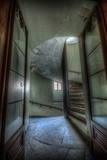 Haunted Interior Stariway Photographic Print by Nathan Wright