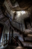Haunted Interior Stairway Photographic Print by Nathan Wright