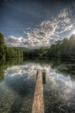 Haunted Lake Photographic Print by Nathan Wright