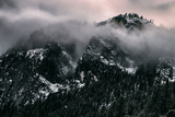 Misty Moody Yosemite Valley, Yosemite National Park, California Photographic Print by Vincent James