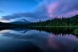After Sunset at Trillium Lake Reflection, Summer Mount Hood Oregon Photographic Print by Vincent James