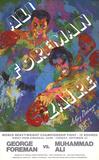 Ali - Foreman Zaire Print by LeRoy Neiman