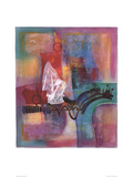 Farbsinfonie II Konst av Ernst-peter Rade
