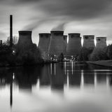 Cooling Tower at Power Station Art by Craig Roberts