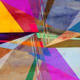Abstract Colorful Watercolor Background Prints by  tanor27