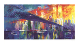 Brooklyn Bridge Prints by LeRoy Neiman