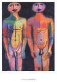 Bodyguard Posters af Jean Dubuffet