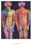 Bodyguard Plakater av Jean Dubuffet