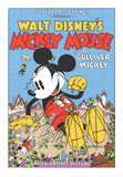 Walt Disney's Mickey Mouse-Gulliver Mickey セリグラフ : 作者不明