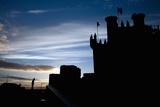 Templar Castle, Town of Ponferrada in Spain Photographic Print by Felipe Rodriguez