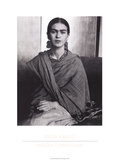 Portrait of Frida Khalo Posters by Imogen Cunningham