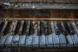 Haunted Interior with Piano Photographic Print by Nathan Wright