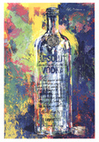 Absolute Vodka Collectable Print by LeRoy Neiman