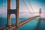Afternoon Crossing, Golden Gate Bridge - San Francisco Wall Mural by Vincent James