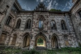 Haunted Exterior of Building Photographic Print by Nathan Wright