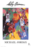Michael Jordan Collectable Print by LeRoy Neiman